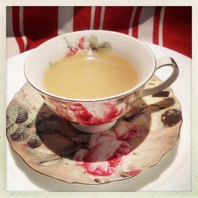 Rose Tea Cup A Sip Of My Tea