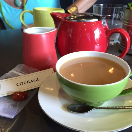 courage tea