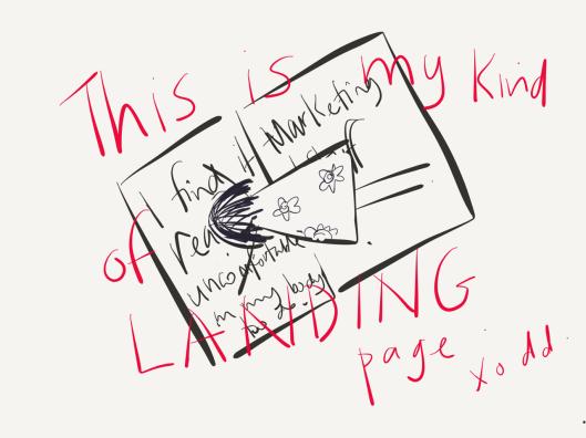 landing page by denise daffara